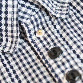 VOO - DEFORM MID SHIRT・GINGHAM