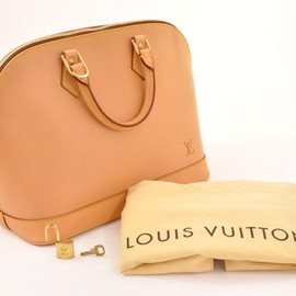 LOUIS VUITTON - Authentic Louis Vuitton Alma Nomade Leather Hand Bag L400