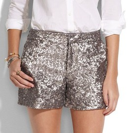Madewell - sequin shorts