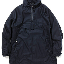 nonnative - STROLLER PULLOVER WOOL TWILL STRETCH WITH GORE-TEX INFINIUM™