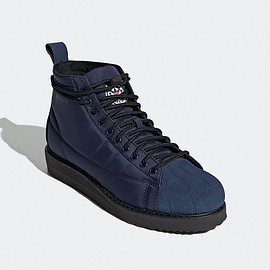 adidas - Superstar Boot - Navy/Core Black