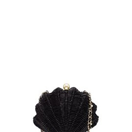 kate spade NEW YORK - SPLASH OUT WICKER CLAM SHELL