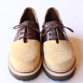 foot the coacher - foot the coacher/ TOE CAP TIROLEAN SHOES