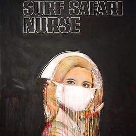 Richard Prince - Surf Safari Nurse