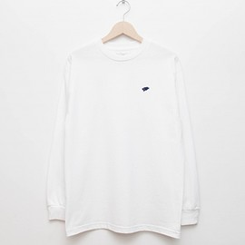 cup and cone - Basic L/S - White