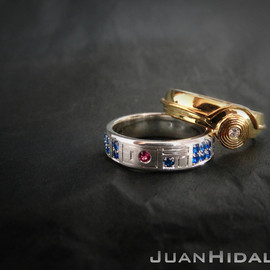 StarWars - star-wars-inspired-r2-d2-and-c-3po-wedding-rings