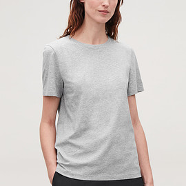 COS - Grey COTTON T-SHIRT