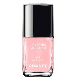 CHANEL - LE VERNIS NAIL COLOUR 495 MICA ROSE