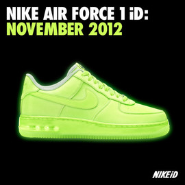 Nike - AIR FORCE 1 LOW PREMIUM ID グローインザダーク
