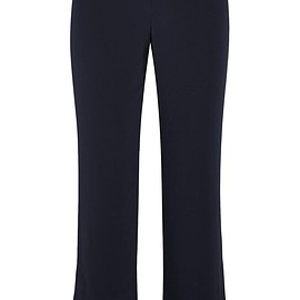 Helmut Lang - Cropped stretch-crepe flared pants