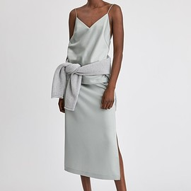 Filippa K - ELLEN SKIRT in GREEN FOG