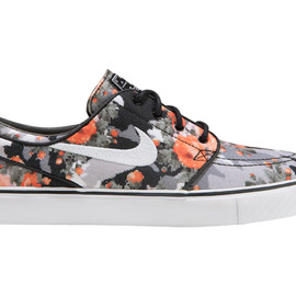 Nike - Image of Nike SB Zoom Stefan Janoski Multi-Color/Black-Mandarin