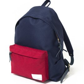 nanamica - Day Pack / Navy×Red