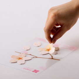 Appree - Leaf-it Cherry Blossom sticky notes