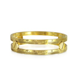 Jean Paul Gaultier - Demesure Gold-Tone Bangle Bracelet