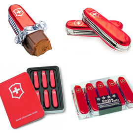 Swiss Movement - Swiss Army Knife Chocolate
