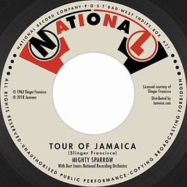 MIGHTY SPARROW - TOUR OF JAMAICA / I'LL BE ARROUND