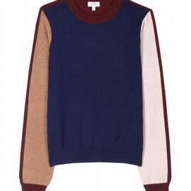 KENZO - Kenzo - COLOR BLOCK KNIT PULLOVER