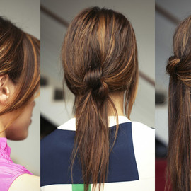 Chic Knotted Hair Styles - DIY