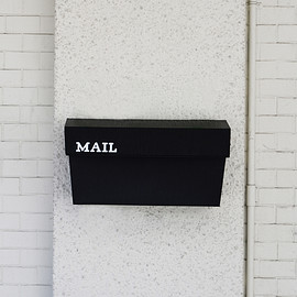 WALL MOUNTED MAIL BOX - WALL MOUNTED MAIL BOX