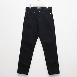 cup and cone - Custom Fit Denim Pants - Double Black