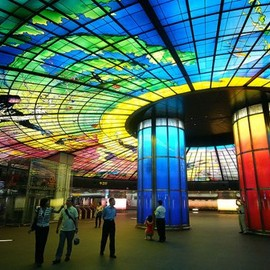 Taiwan - Formosa Boulevard Station, Kaohsiung