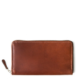Whitehouse Cox - S1774 ZIP ROUND WALLET / ANTIQUE BRIDLE