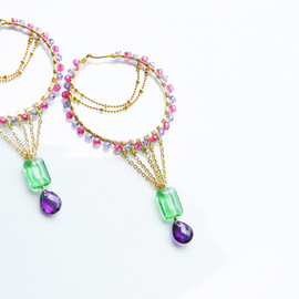 Ostara - foop earrings