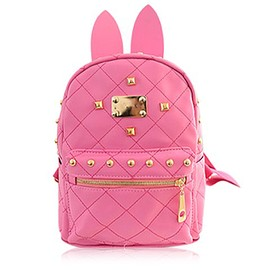Cute Women's Satchel With Rabbit Ears and Candy Color Design