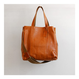 quadro - Leather Tote Bag