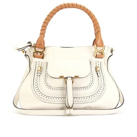 Chloé - MARCIE MEDIUM PERFED LEATHER SHOULDER BAG