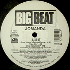 JOMANDA - I LIKE IT / BIGBEAT