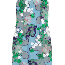 JONATHAN SAUNDERS - Stephanie embroidered tulle dress