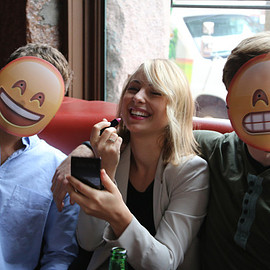 Emoji Masks - Full Cast of All 5 Emoji Masks