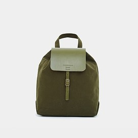 Thisispaper Shop - Classic Backpack Medium Dark Olive – Thisispaper Shop