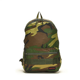 BRIEFING - Packable Day Pack-Woodland Camo