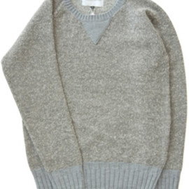 ANALOG LIGHTING - Knitting Sweat (grey)