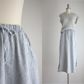 vintage - vintage ticking skirt