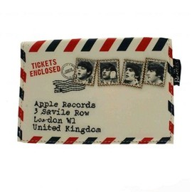 Disaster Designs - The Beatles Tickets Enclosed Purse