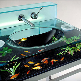 Fish Aquarium Bathroom Sink