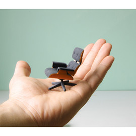kspence - mini Eames Lounge Chair