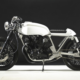 "steel bent customs - 1979 Honda CB750 ""5"""