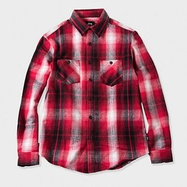 STUSSY - Heavy Brushed Flannel Shirt