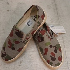 VANS - SLIP-ON CA/Washed Camo