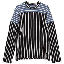 .efiLevol - 2Color Border Long Sleeve