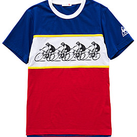 Le Coq Sportif - Tour de France 2017 ファンTシャツ No.6