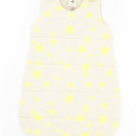 "NOE & ZOË - ""YELLOW STARS"" BABY SLEEPING BAG -"