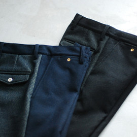 "Throughly Denim - Everybody's trousers type1 ""Melton Pants"""