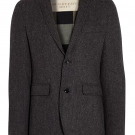 Burberry Brit - Grey Tweed Blazer