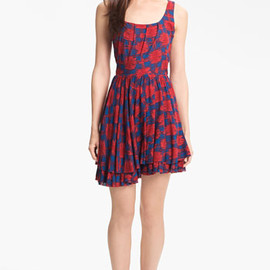 MARC BY MARC JACOBS - 'Sam' Cotton Fit & Flare Dress
